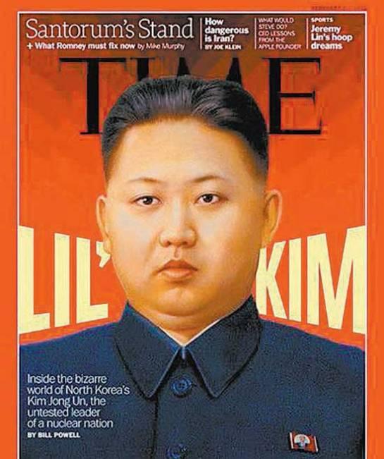 Kim Jong-un, na capa da 'Time' de fevereiro deste ano