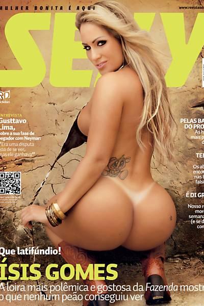 Isis Gomes é capa da Sexy em abril de 2013